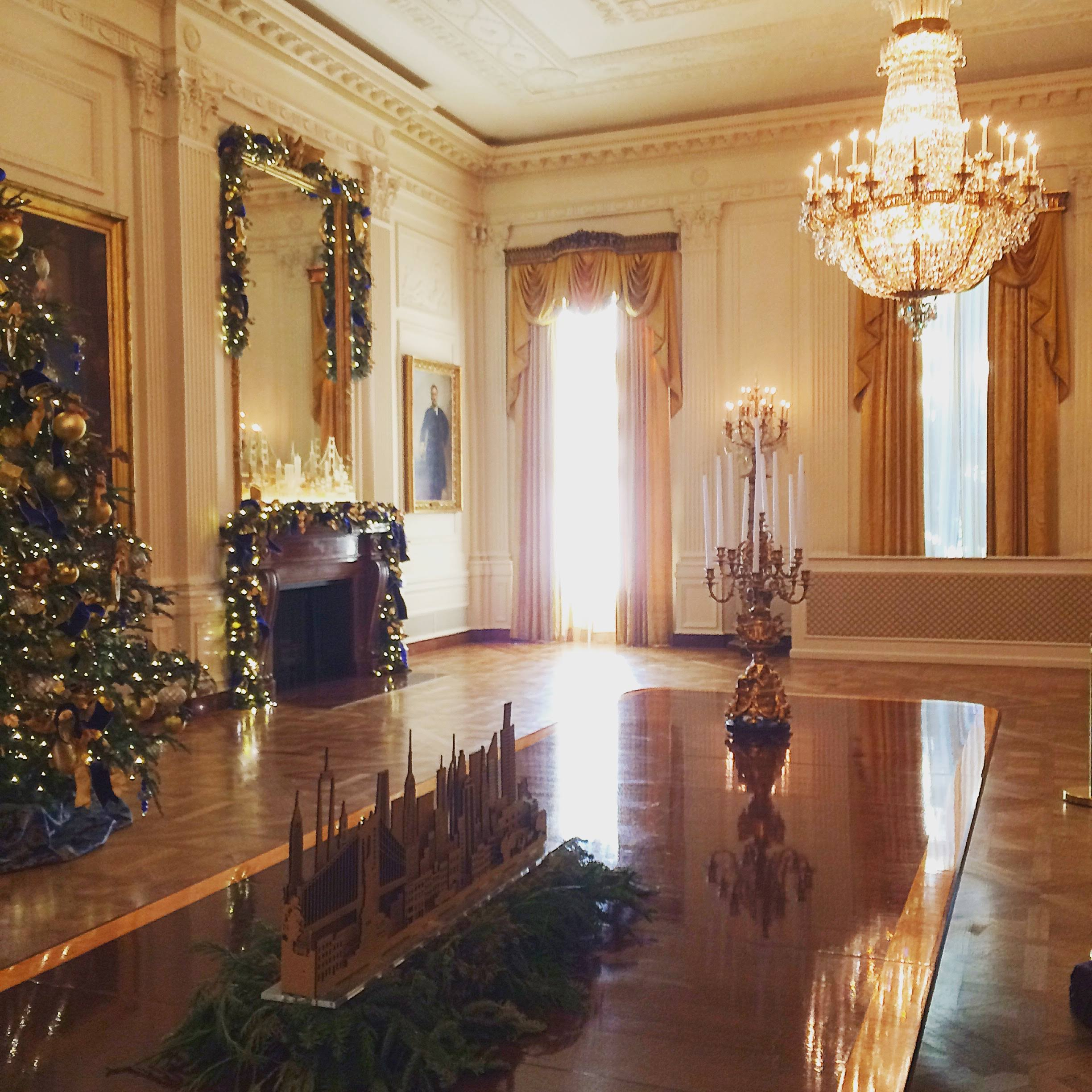 Tour of the East Wing of the White House